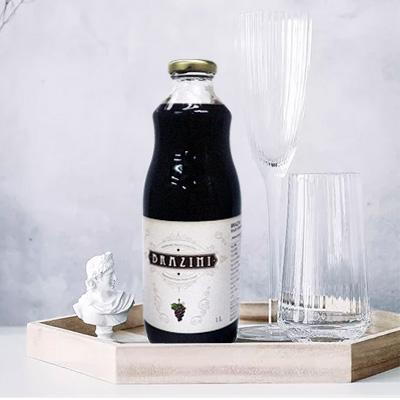 BRAZINI 巴仙尼 天然鮮榨葡萄汁 1000ML